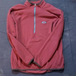 Oakley 1/4 zip fleece pullover